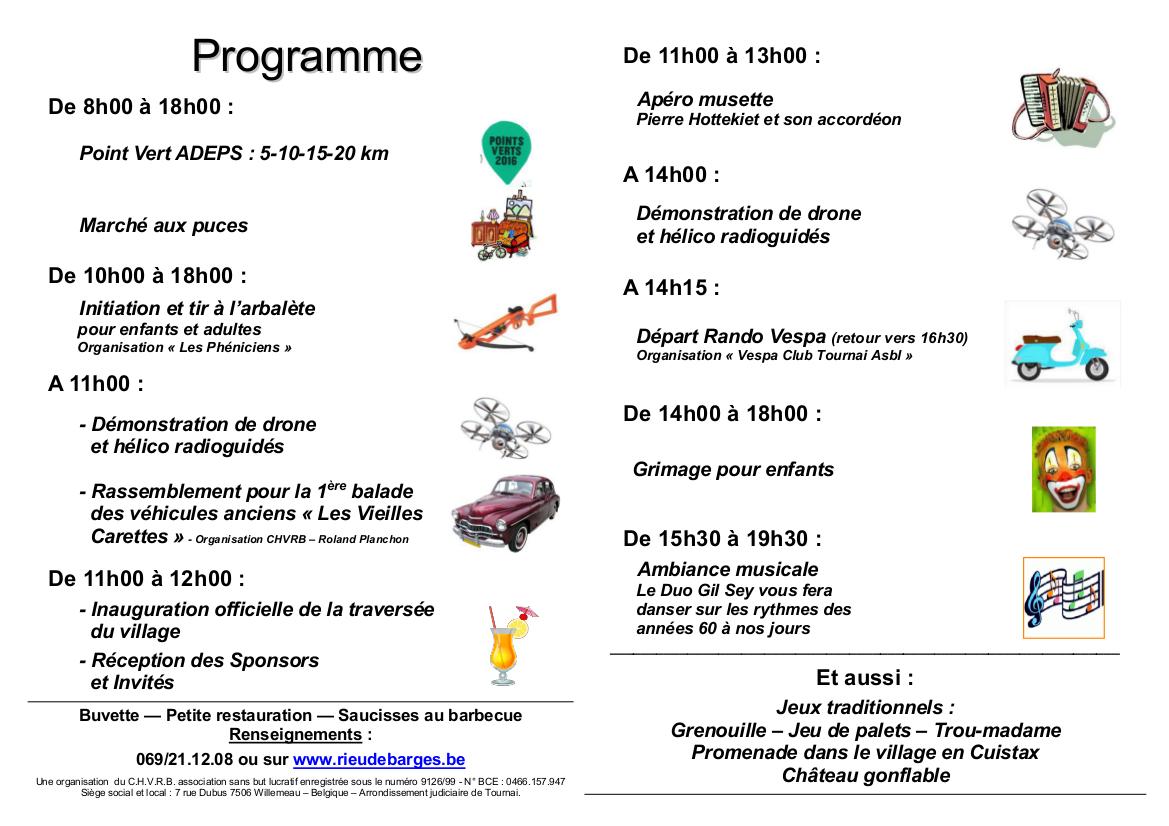 Toutes-boîtes - Programme 2016 Ducasse de WILLEMEAU + PUBS + Logos 2- 29.05.16
